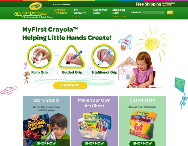 Crayolastore.com - SureSource 2012