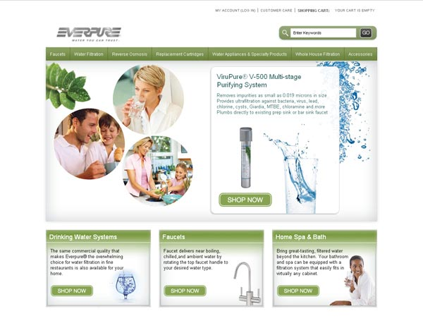 ShopEverpure.com - SureSource LLC 2011