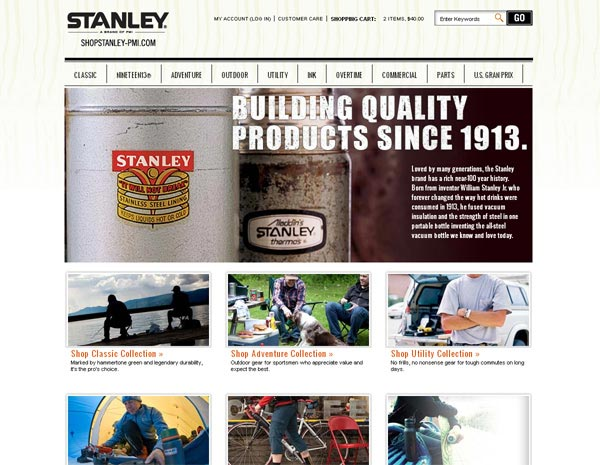 ShopStanley.com - SureSource LLC 2011